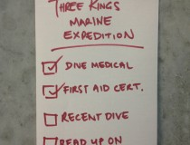 To do list for Three Kings